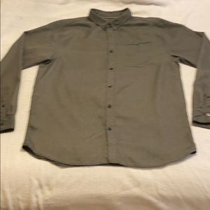 NICE The North Face Men's L/Sleeve Gray XL Shirt